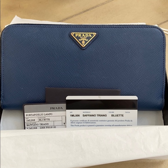How To Check Authentic Prada Wallet